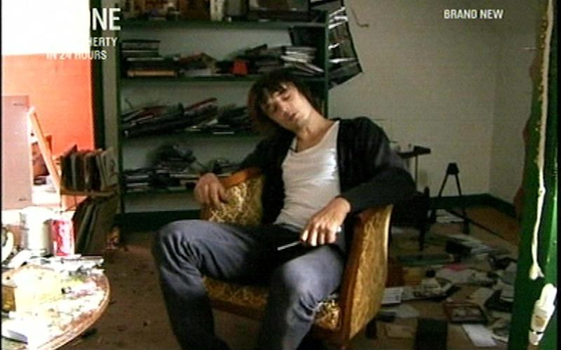 Pete Doherty at Sturmy House, during his stay on Lord Cardigan's Savernake Estate - Credit: Planet Photos
