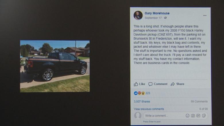 'Facebook found my truck': Limited edition truck returned to its owner