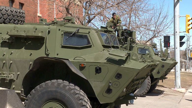 Calgary regiment hiring crew for new tactical armoured patrol vehicles