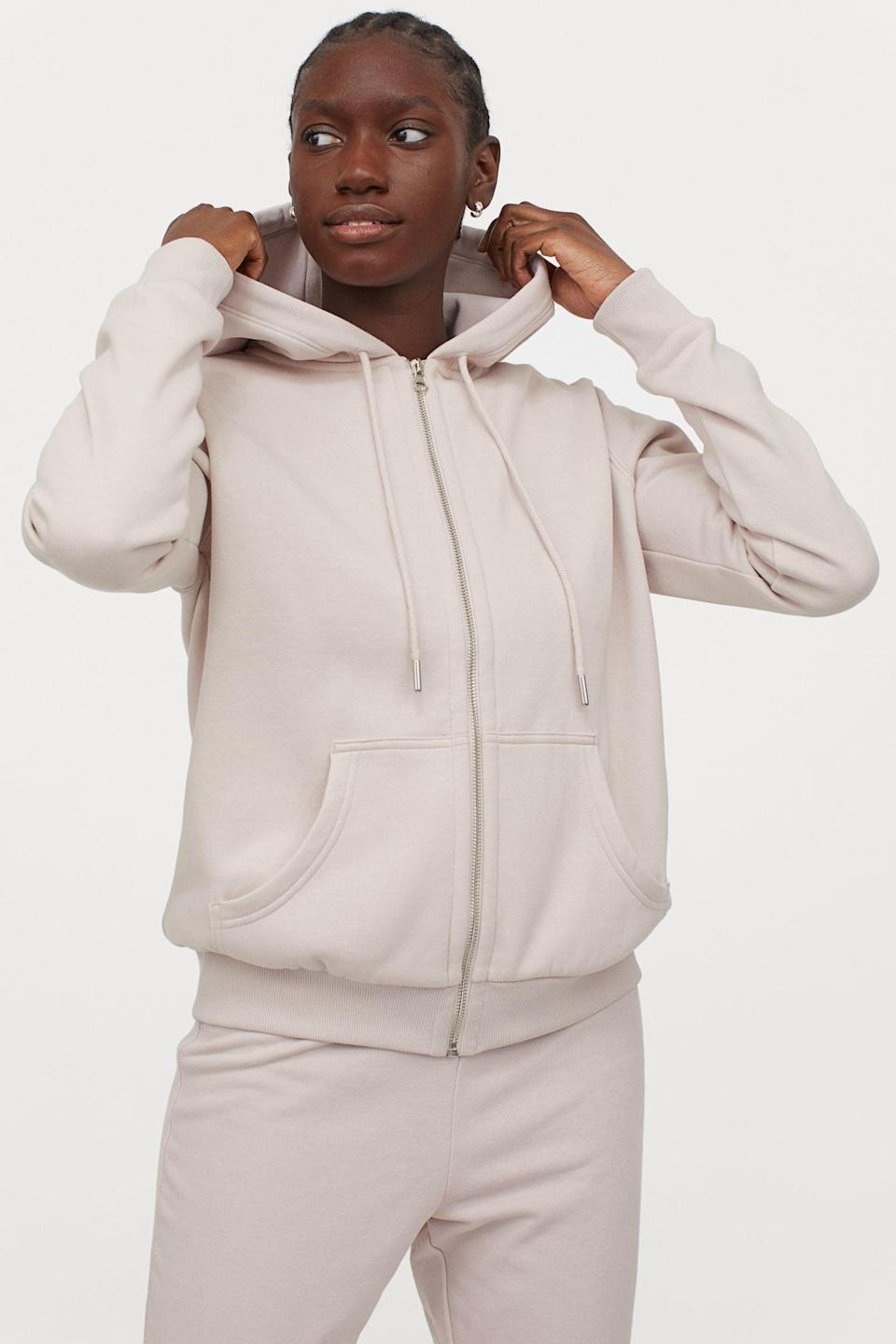 <p>We bet this <span>Hooded Jacket</span> ($20) is so comfortable.</p>