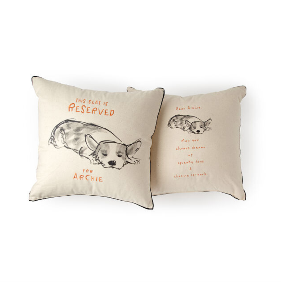 Custom Dog Pillow (Photo via Uncommon Goods)