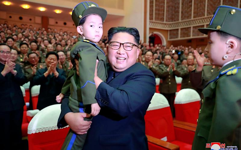 New details have been revealed about Kim Jong-un's childhood - KCNA via KNS