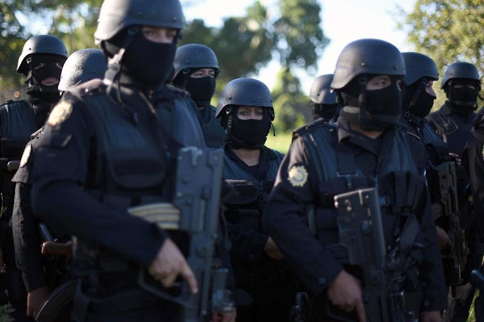 More than 120 raids were carried out by nearly 300 law enforcement officers and prosecutors (AFP Photo/Johsn Ordonez)