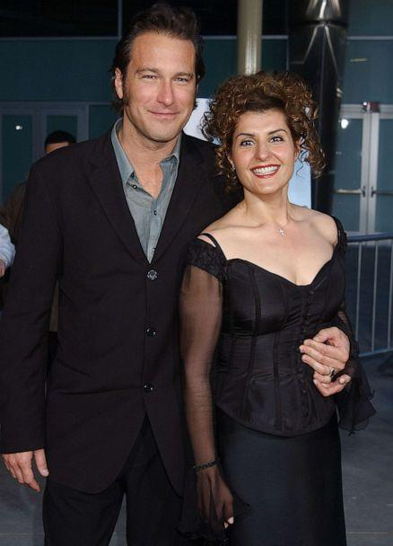 PHOTO: In this April 15, 2002, file photo, John Corbett and Nia Vardalos attend the premiere of 'My Big Fat Greek Wedding' in Hollywood, Calif. (Gregg Deguire/WireImage via Getty Images, FILE)