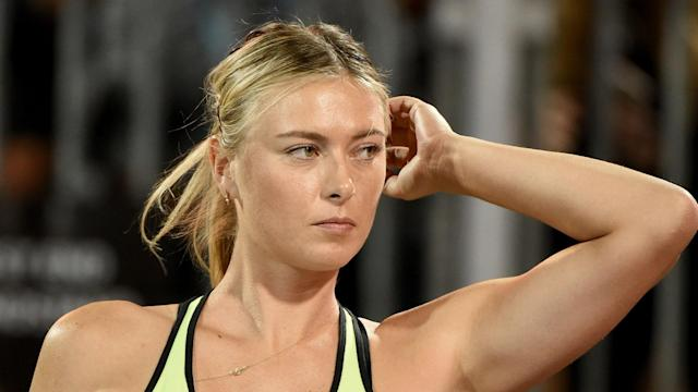 Maria Sharapova is waiting to discover if she will play in the second major of the year at Roland Garros.