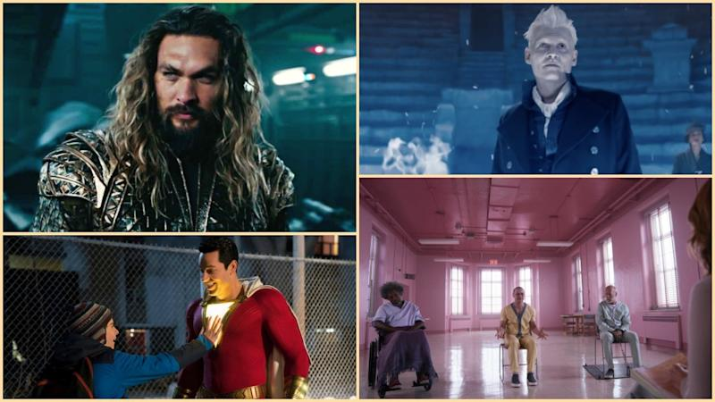 All the Trailers From Comic-Con 2018: 'Aquaman,' 'Fantastic Beasts 2,' 'Shazam!' & More