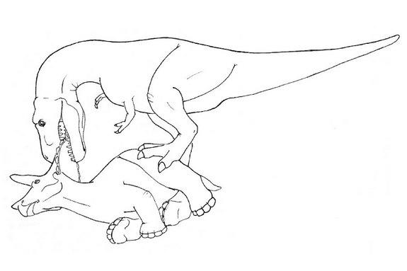 How T. Rex Ate Triceratops in 4 Easy Steps