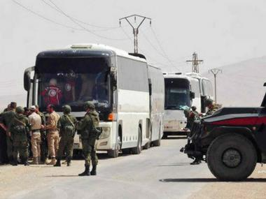 Islamic State militants agree to give up last pocket in Damascus to Syrian forces, say reports