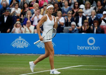 Konta and Svitolina exit at Birmingham event
