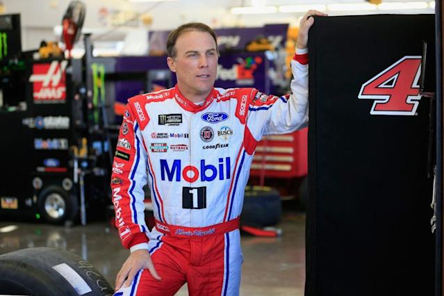 """<a class=""""link rapid-noclick-resp"""" href=""""/nascar/sprint/drivers/205/"""" data-ylk=""""slk:Kevin Harvick"""">Kevin Harvick</a> won the pole at Atlanta and dominated. But he finished 9th. (Getty)"""