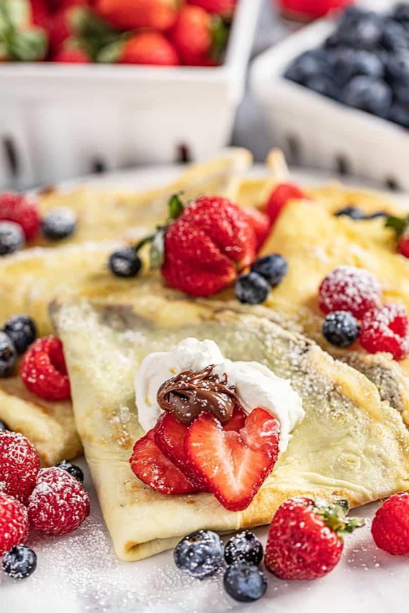 "<p>Utah is shaking things up by making crepes, and we couldn't be more grateful! This easy recipe will make you a morning person in no time.</p> <p><strong>Get the recipe</strong>: <a href=""https://thestayathomechef.com/crepe-recipe/"" class=""link rapid-noclick-resp"" rel=""nofollow noopener"" target=""_blank"" data-ylk=""slk:crepes"">crepes</a></p>"