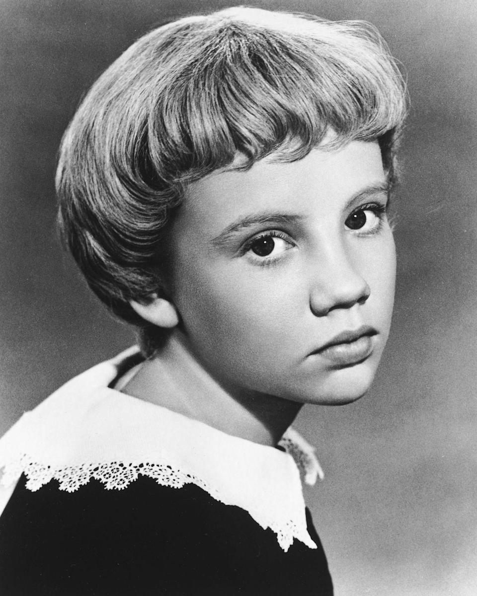 <p>A little softer and more flattering than the unfortunate '90s bowl cut, actress Hayley Mills and other stars donned this round chop with smoothed-under tips.</p>