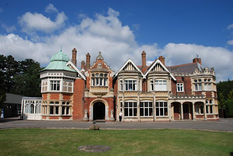 Bletchley Park Mansion in Buckinghamshire was the main base for Allied code breaking during World War II