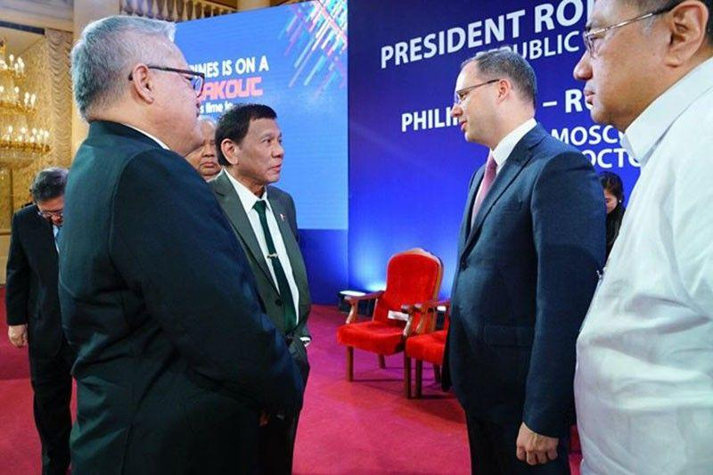 Philippines, Russia sign $12.6-M business deals