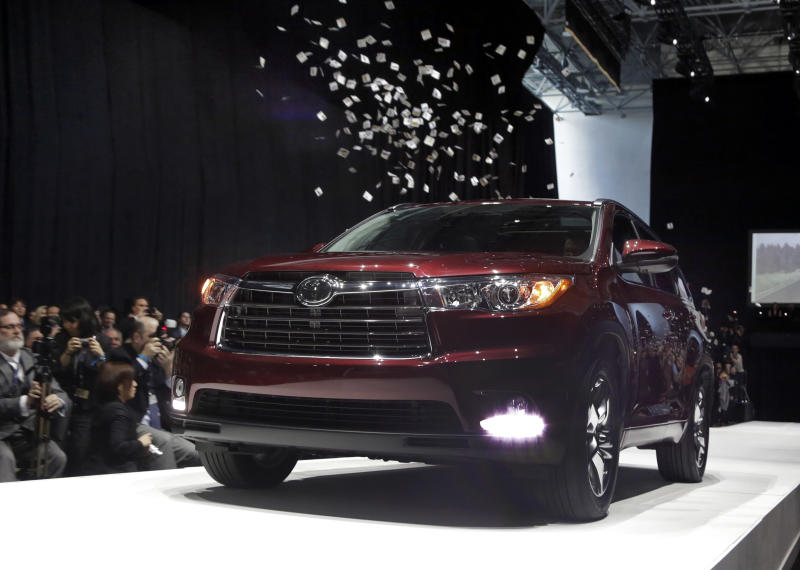 Hot Wheels: Toyota to replace aging Highlander SUV
