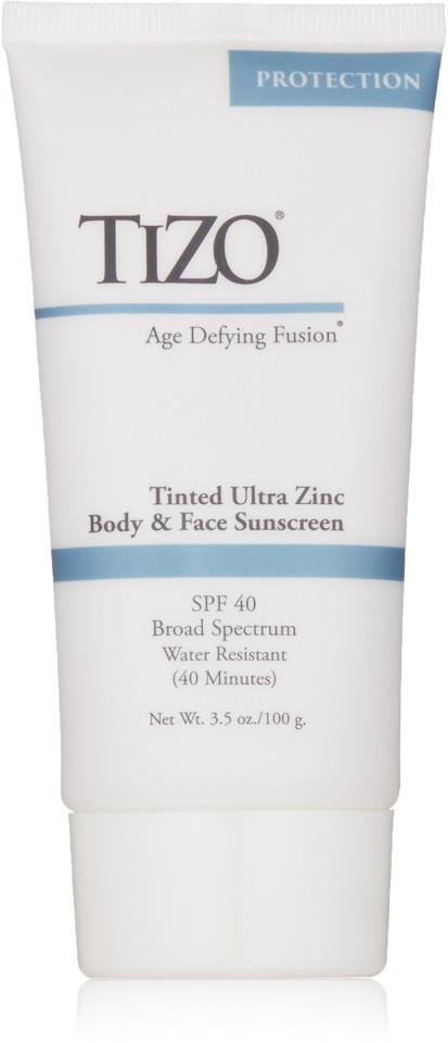 """<p><a href=""""https://www.popsugar.com/buy/Tizo-3-Tinted-Face-Mineral-SPF-40-Sunscreen-423243?p_name=Tizo%203%20Tinted%20Face%20Mineral%20SPF%2040%20Sunscreen&retailer=amazon.com&pid=423243&price=42&evar1=bella%3Aus&evar9=46747784&evar98=https%3A%2F%2Fwww.popsugar.com%2Fbeauty%2Fphoto-gallery%2F46747784%2Fimage%2F46770031%2FSplurge-Tizo-3-Tinted-Face-Mineral-SPF-40-Sunscreen&list1=beauty%20interview%2Cskin%20care&prop13=api&pdata=1"""" rel=""""nofollow"""" data-shoppable-link=""""1"""" target=""""_blank"""" class=""""ga-track"""" data-ga-category=""""Related"""" data-ga-label=""""https://www.amazon.com/TIZO-Tinted-Mineral-SPF40-Sunscreen/dp/B00YHMQDC6"""" data-ga-action=""""In-Line Links"""">Tizo 3 Tinted Face Mineral SPF 40 Sunscreen</a> ($42) is a physical sunscreen has a smooth, silky finish (read: doesn't leave a white residue) that also has antioxidants that can even out your skin tone over time. </p>"""