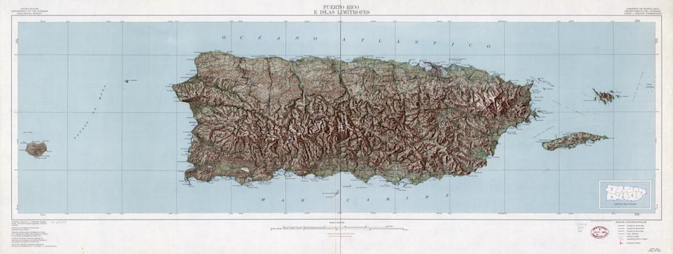 """The Genoese explorer <a href=""""http://www.smithsonianmag.com/travel/destination-hunter/north-america/caribbean-atlantic/puerto-rico/puerto-rico-history-heritage.html"""" target=""""_blank"""">landed on Puerto Rico in 1493</a> on his second voyage, calling it San Juan Bautista. The name changed to Puerto Rico, or """"Rich Port,"""" after European explorers discovered gold there."""