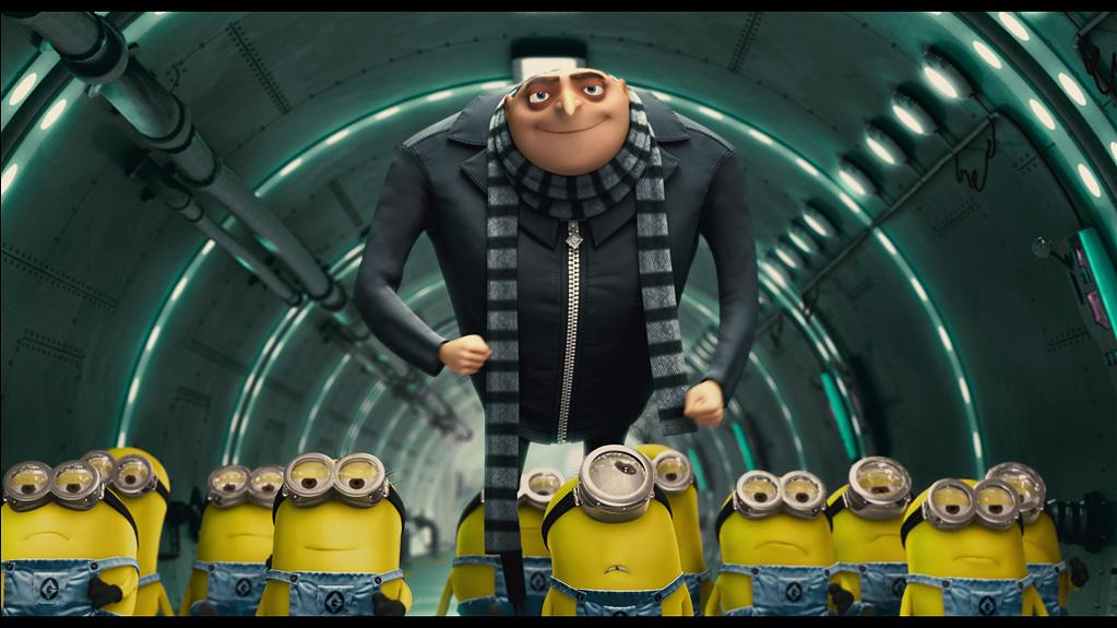 "7. <a href=""http://movies.yahoo.com/movie/1810095115/info"">DESPICABLE ME</a>  Domestic Total Gross: $250,588,005    While hatching his dastardly, super-villainous plan to steal the moon, Gru and has army of minions were also a runaway hit at the summer box office, sneaking its way into the top ten animated films of all time."