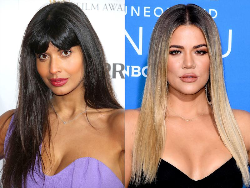 Jameela Jamil Criticizes 'Fat Shaming' Post Shared by Khloé Kardashian: 'This Makes Me Sad'