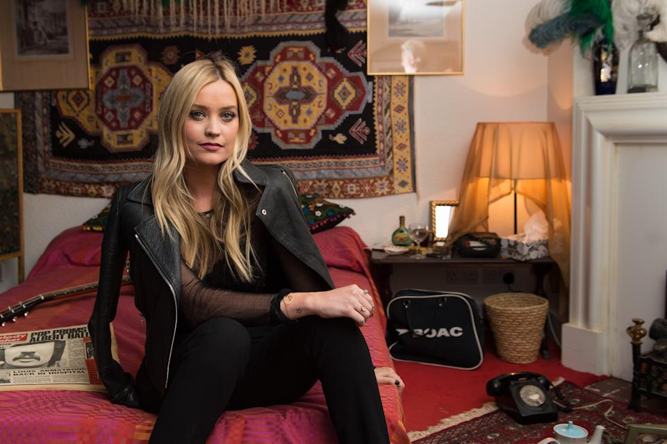Laura Whitmore has spoken candidly about her grief over the passing of close friend, Caroline Flack  (Photo by Ian Gavan/Getty Images)
