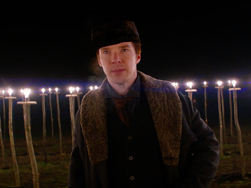 The Current War Trailer - Benedict Cumberbatch's Thomas Edison wants electrical supremacy!