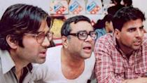 Voted as the best Bollywood comedy film of all times, the 2000 cult film Hera Pheri, featuring Paresh Rawal as the shortsighted, dim-witted but kind landlord, Baburao Ganpatrao Apte, had the audience rolling with laughter. Its success also led director Priyadarshan to make a second instalment - Phir Hera Pheri, which released in 2006. The movie retained the original cast of Akshay Kumar, Suniel Shetty and Rawal, and depicted the twists and turns in their lives after becoming rich. Phir Hera Pheri, however, could not match up to the level that the original did. The third installment of the series is due for release, and, after a few initial hiccups, it was reported that all the three lead stars of the franchise will be reprising their roles.