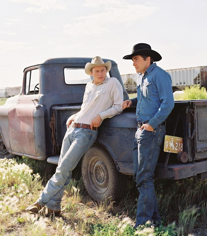 Image: Heath Ledger, left, and Jake Gyllenhaal in Ang Lees