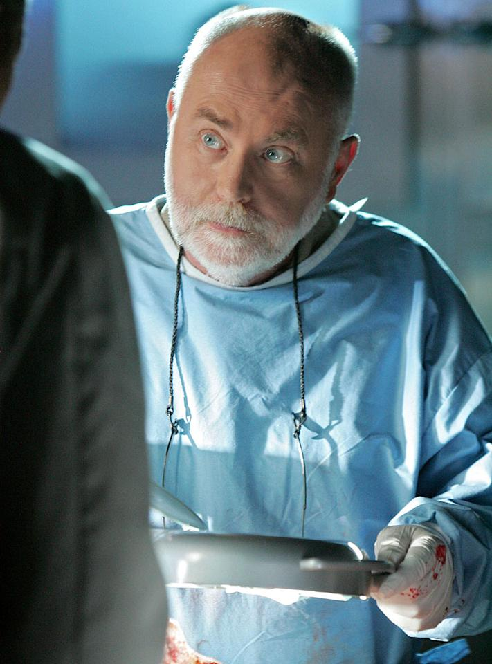 "Robert David Hall stars as Dr. Robbins in ""CSI: Crime Scene Investigation."""