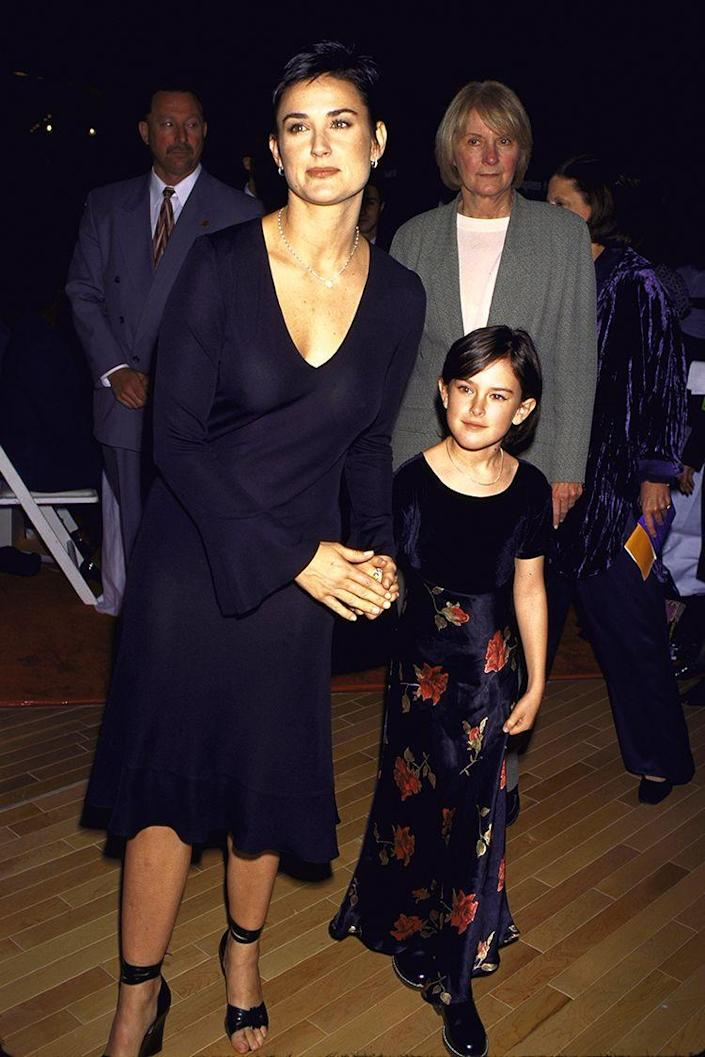 <p>Rumer is the oldest of Demi Moore's three daughters with Bruce Willis. She was born August 16, 1988.</p>