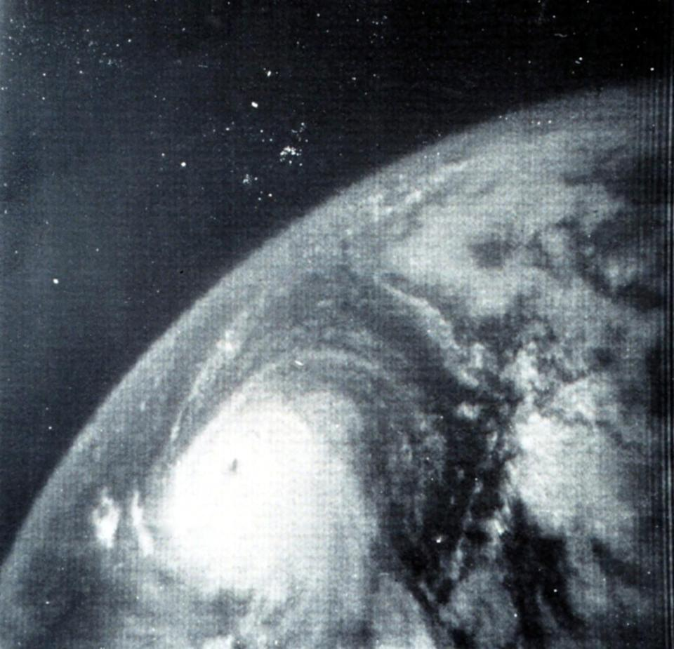 Hurricane Betsy was the first hurricane to cause more than $1 billion in damage