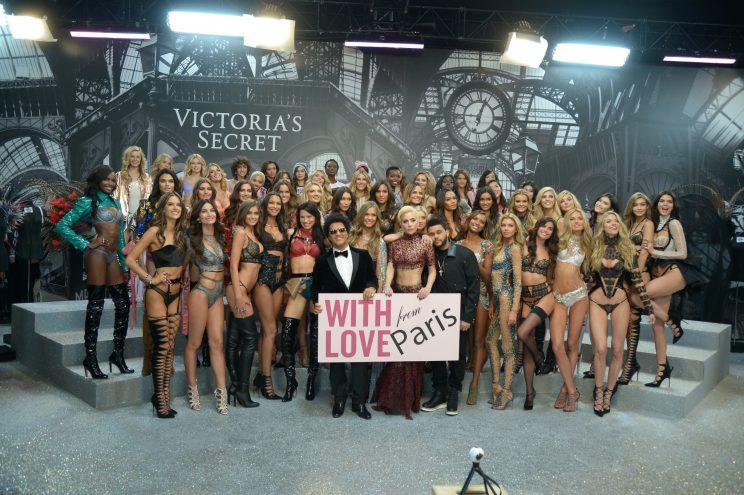 17 out of the 52 models that walked this year's Victoria's Secret show were black or Asian [Photo: Getty]