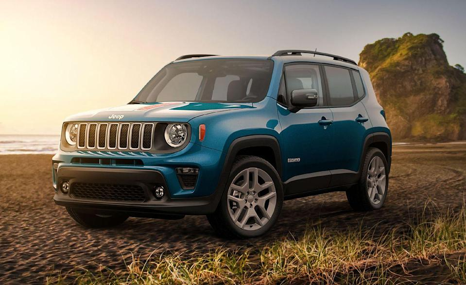 """<p>The <a href=""""https://www.caranddriver.com/jeep/renegade"""" rel=""""nofollow noopener"""" target=""""_blank"""" data-ylk=""""slk:Jeep Renegade"""" class=""""link rapid-noclick-resp"""">Jeep Renegade</a> knows how to party. Before we filled it with 21 carry-on suitcases, designers at Jeep stuffed the brand's smallest four-wheel driver with a bunch of <a href=""""https://www.caranddriver.com/features/g15380362/jeep-renegade-easter-eggs/"""" rel=""""nofollow noopener"""" target=""""_blank"""" data-ylk=""""slk:hidden Easter Eggs"""" class=""""link rapid-noclick-resp"""">hidden Easter Eggs</a>. That began a trend that has caught on across several Stellantis models, including the <a href=""""https://www.caranddriver.com/news/a34073405/2021-ram-1500-trx-engine-cover-easter-egg/"""" rel=""""nofollow noopener"""" target=""""_blank"""" data-ylk=""""slk:Ram 1500 TRX"""" class=""""link rapid-noclick-resp"""">Ram 1500 TRX</a> and <a href=""""https://www.caranddriver.com/news/g33896665/jeep-grand-wagoneer-concept-easter-eggs/"""" rel=""""nofollow noopener"""" target=""""_blank"""" data-ylk=""""slk:Jeep Grand Wagoneer"""" class=""""link rapid-noclick-resp"""">Jeep Grand Wagoneer</a>, and into competitors' models like the <a href=""""https://www.caranddriver.com/features/g33302643/2021-ford-bronco-easter-eggs-revealed/"""" rel=""""nofollow noopener"""" target=""""_blank"""" data-ylk=""""slk:Ford Bronco"""" class=""""link rapid-noclick-resp"""">Ford Bronco</a> and <a href=""""https://www.caranddriver.com/features/g34437377/2022-gmc-hummer-ev-easter-eggs/"""" rel=""""nofollow noopener"""" target=""""_blank"""" data-ylk=""""slk:GMC Hummer EV"""" class=""""link rapid-noclick-resp"""">GMC Hummer EV</a>. The Renegade might be second place on this list, but it has got the most personality inside and out. </p><ul><li>Base price: $24,345 </li><li>Carry-on capacity, rear seats folded: 21 suitcases</li><li>Cargo volume, rear seats folded: 50 cubic feet<br></li><li>Cargo volume, behind rearmost row of seats: 18 cubic feet </li></ul><p><a class=""""link rapid-noclick-resp"""" href=""""https://www.caranddriver.com/jeep/renegade/specs"""" rel=""""nofollow noopener"""" target=""""_blank"""" """