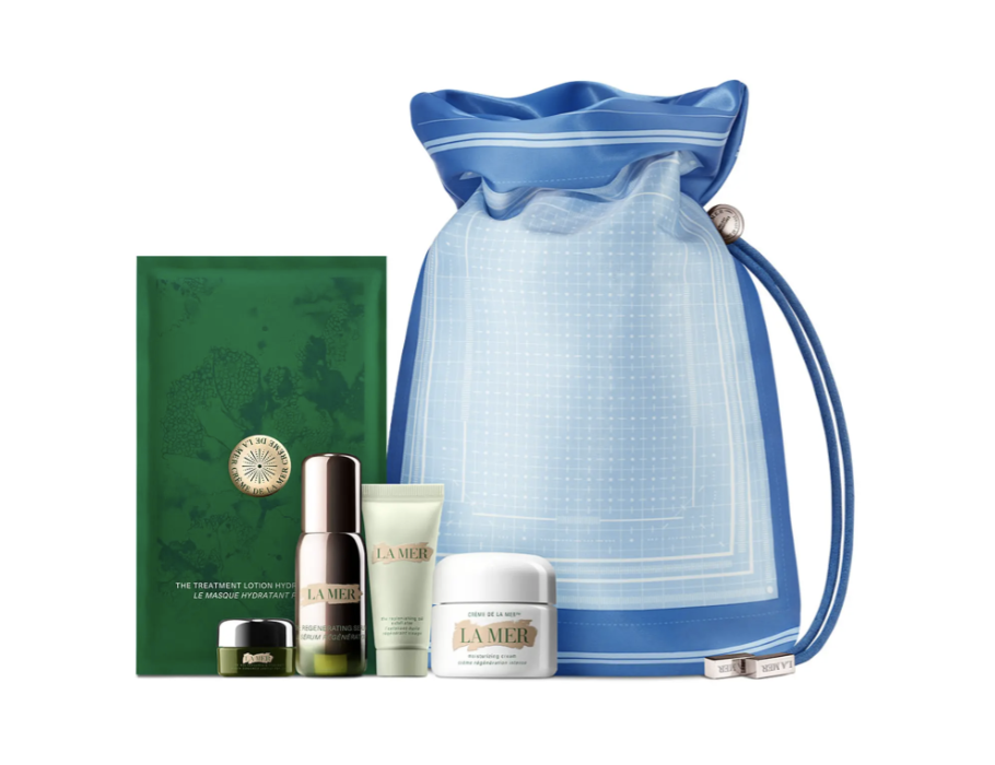 """It's not every day you can snag luxury beauty at a discount, which is why bundles should be your best friend. Grab this four-piece set to revive your skin-care routine for a fraction of what La Mer normally goes for. $340, Nordstrom. <a href=""""https://www.nordstrom.com/s/la-mer-the-replenishing-moisture-collection-509-value/5588611?"""" rel=""""nofollow noopener"""" target=""""_blank"""" data-ylk=""""slk:Get it now!"""" class=""""link rapid-noclick-resp"""">Get it now!</a>"""