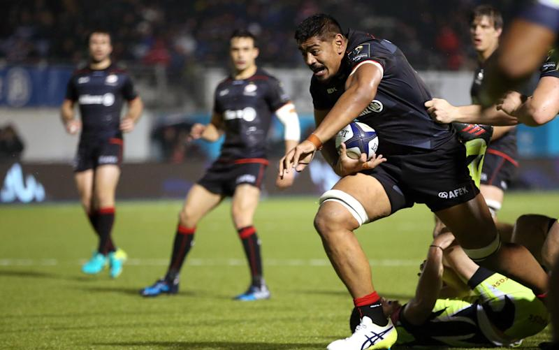 Saracens have re-signed Will Skelton - Credit: Rex Features