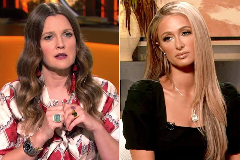 Paris Hilton and Drew Barrymore Reflect on Being Placed in Solitary Confinement as Teens