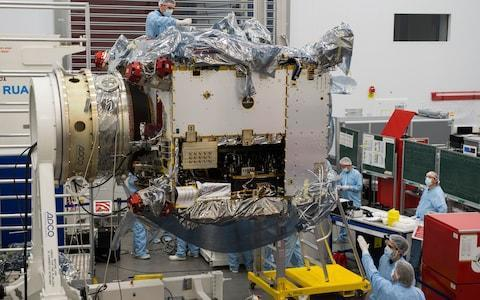 The Solar Orbiter is heading for Germany where it will undergo testing - Credit: Max Alexander
