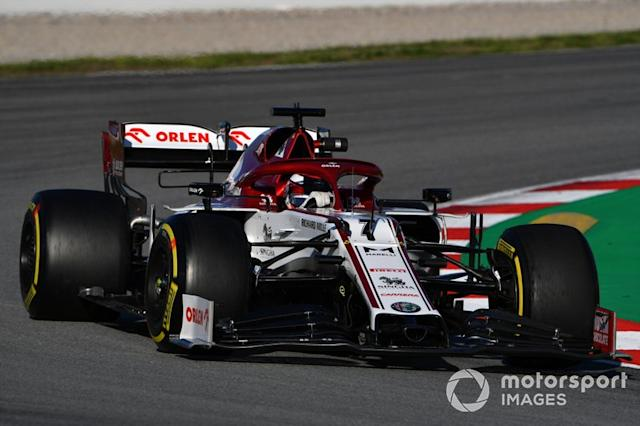 "Kimi Raikkonen, Alfa Romeo Racing C39 <span class=""copyright"">Mark Sutton / Motorsport Images</span>"