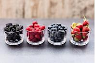 <p>The tiny fruits are a tasty way to tame a sweet tooth without any added sugar, says Zanini. Plus, they're packed with blood sugar-stabilizing fiber and antioxidants that can help ward off heart disease. </p><p>Enjoy fresh berries when they're in season, but don't hesitate to reach for frozen the rest of the year. Experts agree that they're just as nutritious—and they're often cheaper. Just be sure to buy bags free of added sugar.</p>