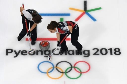 <p>South Korea's 'Garlic Girls' spice up Olympic curling</p>