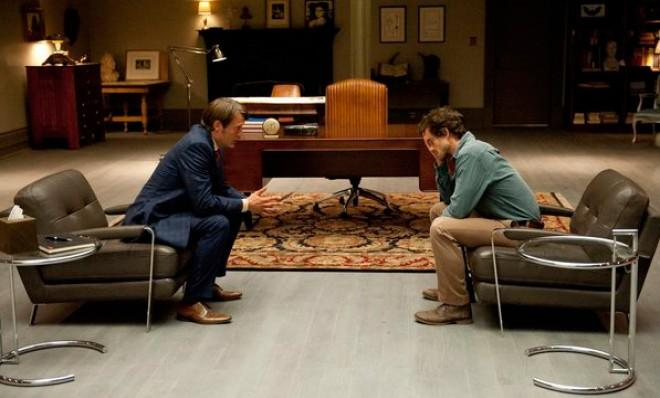 A new take on an old cannibal story: Dr. Hannibal Lecter and FBI Agent Will Graham.
