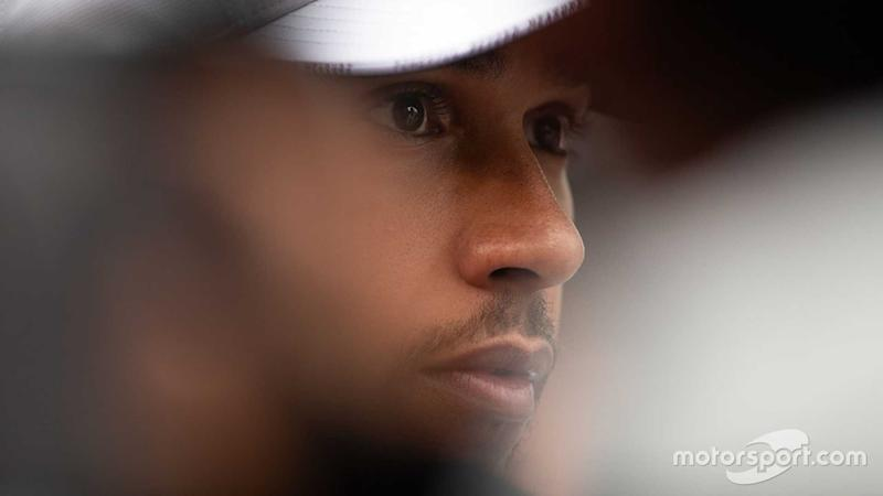 Lewis Hamilton at Italian GP 2019