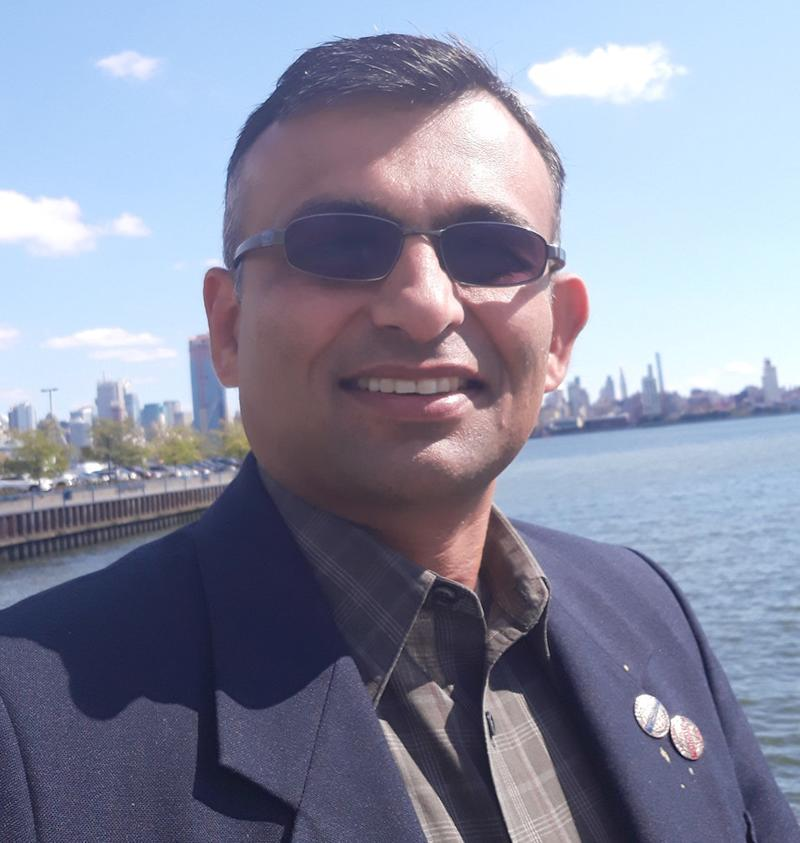 Roopak Desai, 44, wants to encourage other people in his community to seek mental health help. He's now a volunteer with the South Asian Mental Health Initiative and Network.