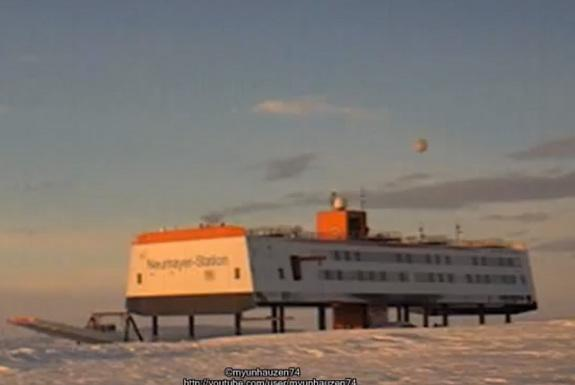 Conspiracy Theorists: UFO Over Antarctica?
