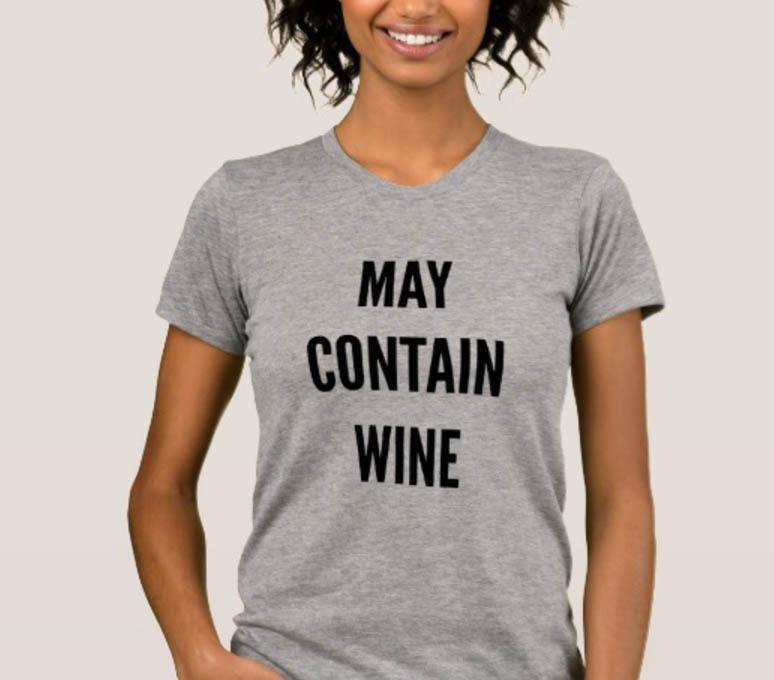 A Zazzle shirt modelled by a woman of colour [Photo: Zazzle]
