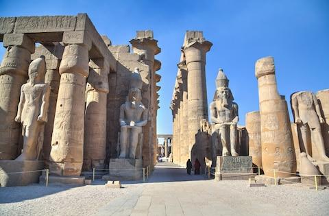 Luxor Temple - Credit: Getty