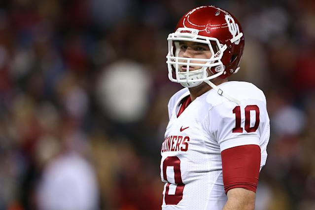 Report: Oklahoma's Blake Bell is taking reps at quarterback