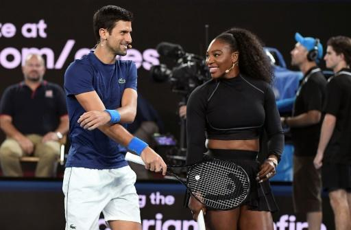 Novak Djokovic is going for his eighth Australian Open title, while Serena Williams can claim a record-equalling 24th Grand Slam crown