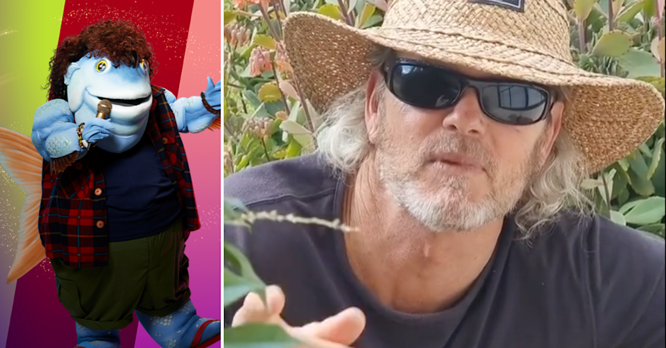The Masked Singer Australia 2021 contestant Mullet and Craig McLachlan