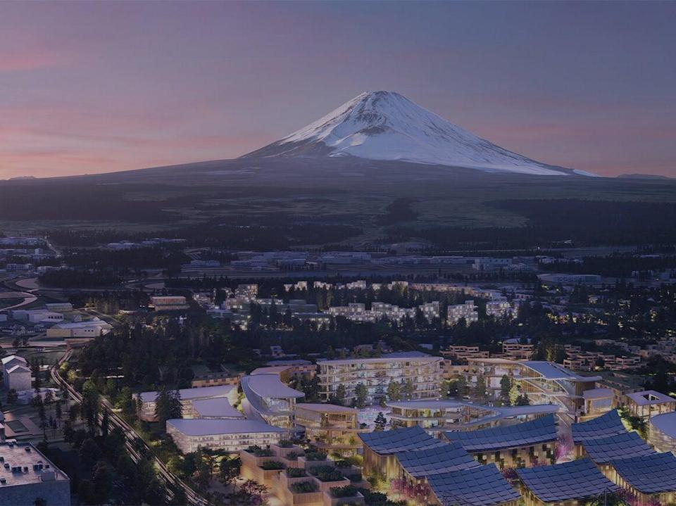 <p>Representative: The new city designed by Toyota will be situated at the base of Japan's Mount Fuji, about 62 miles from Tokyo   </p> (Getty Images)