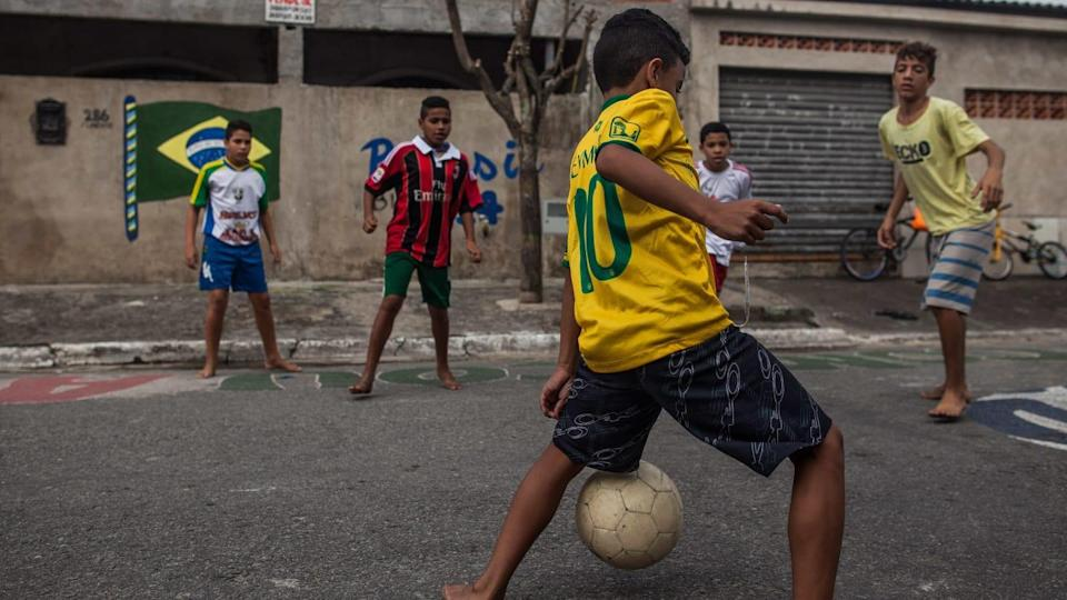 Santos, Brazil Takes Pride In Star Player Neymar's Local Rise   Victor Moriyama/Getty Images